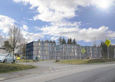 Schulungszentrum BOMAG Planungsstudie
