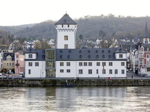 """<span class=""""under"""">Kurfürstliche Burg Boppard</span><br> Sanierung"""