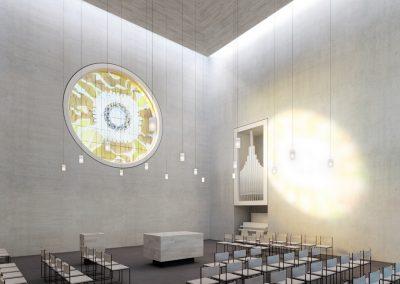 Kapelle St. Peter und Paul Urbar Wettbewerb