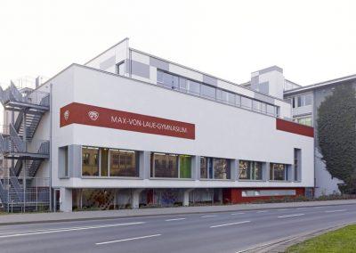 Max-von-Laue Gymnasium, Koblenz Sporthalle und Mensa