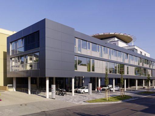 """<span class=""""under"""">Marienhausklinikum Neuwied</span><br> Erweiterung Bettenhaus"""