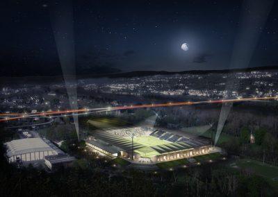 Stadion Koblenz-Oberwerth Studie