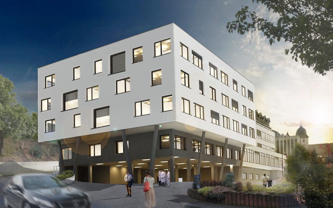 Krankenhaus Maria-Hilf, Daun Erweiterung Bauteil B