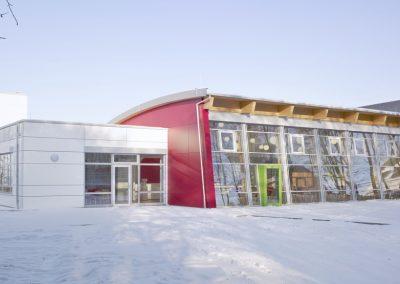 Integrierte Gesamtschule Emmelshausen Neubau Mensa
