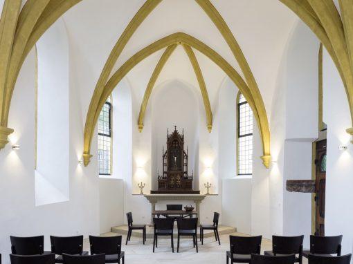 """<span class=""""under"""">Kapelle Himmeroder Hof Andernach</span><br> Sanierung"""