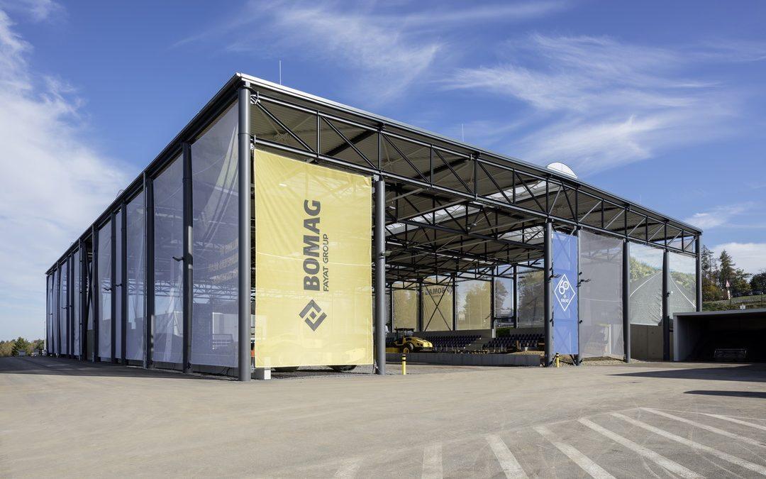 BOMAG Trainingscenter und Demogelände