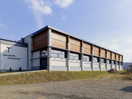 """<span class=""""under"""">Sporthalle Koblenz-Arzheim</span><br> Sanierung"""