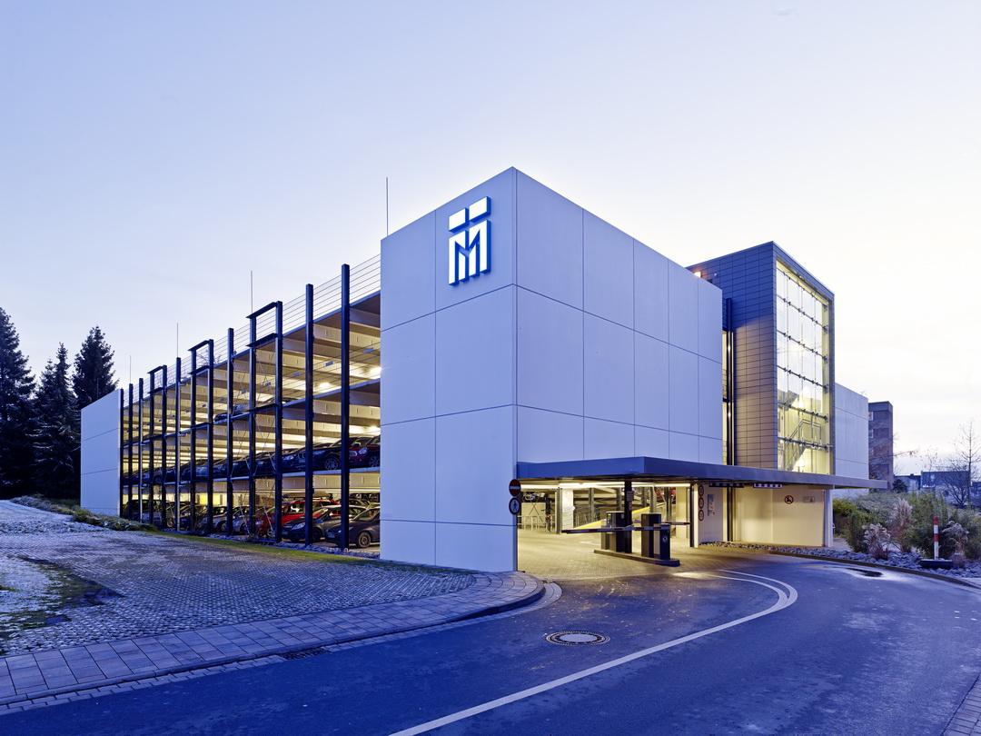 Br derkrankenhaus paderborn parkhaus architekten bda naujack rind hof koblenz - Architekten paderborn ...