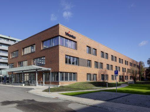 "<span class=""under"">Vivantes Klinikum Berlin-Spandau</span><br> Neubau Komfortklinik"