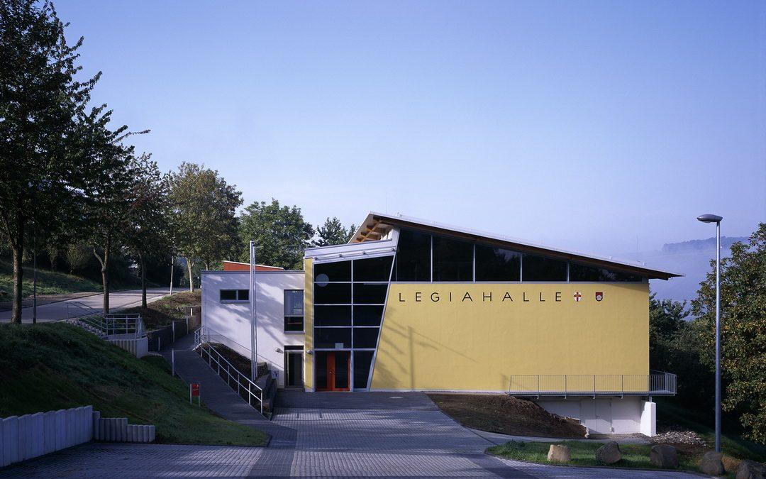 Sporthalle Koblenz-Lay Neubau