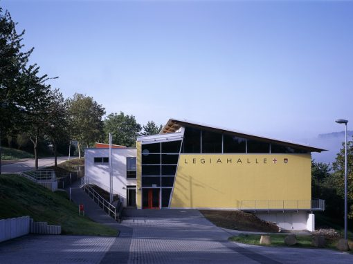 "<span class=""under"">Sporthalle Koblenz-Lay</span><br> Neubau"