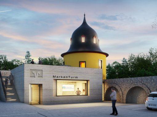 "<span class=""under"">Schloss Montabaur</span><br> Raiffeisen-Markenturm"