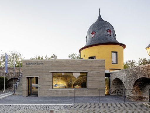 Fertigstellung Markenturm Schloss Montabaur