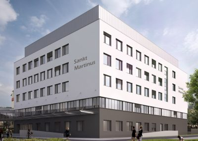 Brüderkrankenhaus Trier Neubau St. Martinus