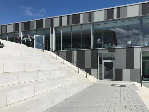 Einweihung Mensa und Sporthalle am Gymnasium Bitburg
