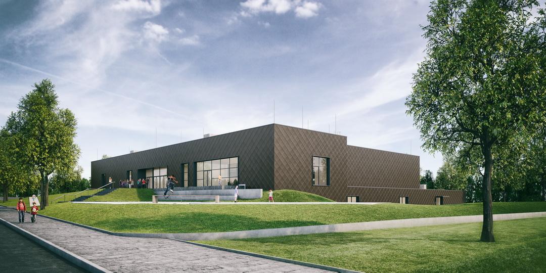 Mehrzweckhalle Mäusheckerweg Trier Neubau